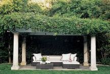 Relaxing Patio! / Do you enjoy sitting in your backyard? Ready to curl up and read a book? Enjoy sitting outside enjoying a meal? Here are some ideas to help plan your dream patio!