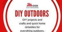 DIY Outdoors / DIY projects and crafts and quick home remedies for everything outdoors.