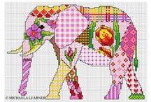 Borduren/cross stitching/embroidery