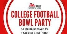 College Football Bowl Party / All the must haves for a College Bowl Party!