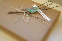 Cadeau's inpakken/Presents