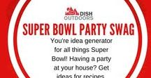 Super Bowl Party Swag / You're idea generator for all things Super Bowl! Having a party at your house? Get ideas for recipes, decorations and more!