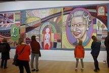 National Portrait Gallery / NPG London, Who are you? Grayson Perry, families activity base, Emmeline Pankhurst