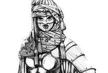 medieval armor female