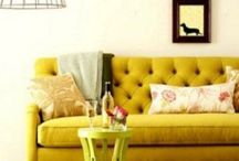 Yellow in interieur / Everything  thats yellow in interieur / by an omenes
