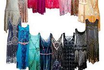 abiti femminili / references per abiti femminili, principalmente anni 20 o vintage