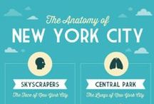 New York City | TRAVEL / New York City, how I love thee! Here you'll find great travel info, beautiful photography, and great books set in NYC.