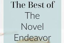 The Novel Endeavor | BLOG / Great posts and content directly from The Novel Endeavor Blog...books, motherhood, and adoption