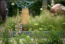 Chelsea Flower Show 2014 / Award Winning trade stand for David Harber garden sculpture at Chelsea Flower Show 2014