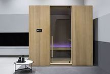 ESSENCE Sauna / Our new Sauna displays a contemporary architecture and a pure and essential design, conceived according to project quality and environmental-friendly criteria. It is a sophisticated wellness area suitable for both private and professional sector.
