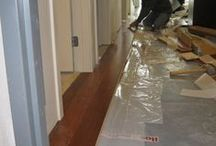 Hardwood floor installations