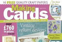 Making Cards April 2014 / To order visit www.makingcardsmagazine.com or call 01778 395171