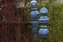 szobrok, mozaikok