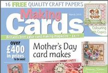 Making Cards March 2014 / To order visit www.makingcardsmagazine.com or call 01778 395171