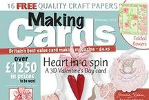 Making Cards February 2014 / To order visit www.makingcardsmagazine.com or call 01778 395171