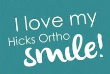 """Hicks Orthodontics / Visit us to see how we are """"Changing Lives One Smile at a Time""""!"""