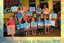 Paint & Wine Events / Painting parties