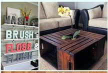 DIY Home Projects / A great resource for simple ways to save money on DIY projects for your home!