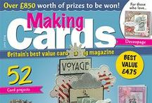 Making Cards June 2014 / To order visit www.makingcardsmagazine.com or call 01778 395171