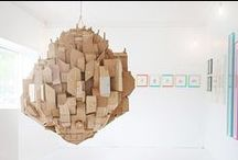 Cardboard and paper crafts