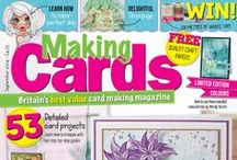 Making Cards September 2014 / Available to order from 8th August. Visit www.makingcardsmagazine.com or call 01778 395171