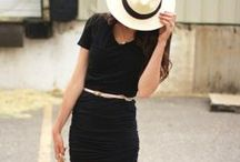 Women's Fashion / Mostly classic, chic outfits that could be described as soft..