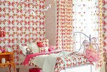 Para las princesas de la casa / Ideas de decoración para habitaciones de niñas