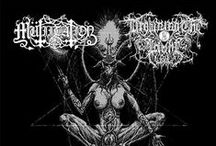 Black Metal Album Artworks