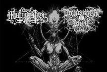 Black Metal Album Artworks