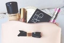Make up bag inspiration / with upcycling and recycling