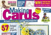 Making Cards February 2015 OUT NOW! / Making Cards February 2015  OUT NOW www.makingcardsmagazine.com