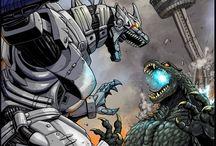 Godzilla / Godzilla art