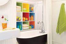 Kid Bathrooms / Kid bath room and other fun stuff