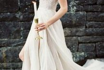 w e d d i n g   s t y l e / wedding awesome style | dress, hair, accessorises, groom's style