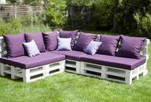 Pallets furniture - DIY