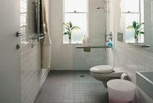 Tiny bathrooms