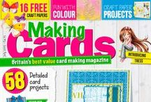 Making Cards July 2015 / A sneak peek at some of the projects appearing in your July 2015 edition. Out Friday 12th June.  Call 01778 395171 to order or visit www.makingcardsmagazine.com