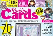 Making Cards January 2016 - OUT NOW! / Your January 2016 edition of Making Cards is out Thursday 31st December! Check out advance sneak peeks here!