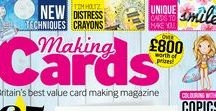 Making Cards June 2016 - Sneak Peek / A sneak peek at some of the projects appearing in the June edition of Making Cards magazine in stores Friday 20th May.