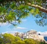 "Greece / Officially known as the ""Hellenic Republic"" Greece is also considered the cradle of Western Civilization, birthing democracy, drama and the Olympic Games for starters. Wanderlust Wednesday 4/26/2017"