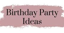 Birthday Party Ideas / I've gathered up all the best party bag fillers, rainbows, decorations, cake Ideas and all the games. So that you can plan the best kids party ever!