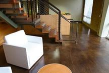 Concrete Floors / Explore the benefits and versatility that concrete floors have to offer.  Go to http://www.concretenetwork.com/concrete/interiorfloors/.