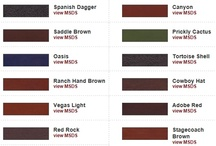 Concrete Dye Color Charts / Concrete dyes come in a range of colors.  Explore these color charts from leading manufacturers.  For more information on concrete dyes, visit http://www.concretenetwork.com/products-dyes/.
