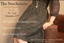Behind the Scenes / Behind the Scenes photos at Just For You - The Stockroom women's clothing store! / by Just For You