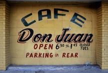 Cultural Typography in San Antonio / Typography found within San Antonio.