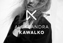 Kawalko / Logo and website for fashion designer Aleksandra Kawalko.