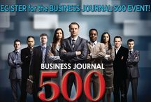 Business Journal 500 / A great event that is the ONLY compilation of the area's mid-market and large companies! Our event features a select group of business leaders and decision-makers that work for and own the largest and fastest-growing companies. Our event will take place on August 21, 2013 @ 7:30 am @ The Genesee Grande!