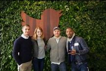 Visitors / Twitter hosts an array of incredible visitors to the HQ and remote offices.  / by Twitter Inc.