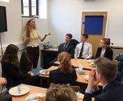 Blue Coat Sixth Form Specials / Every Friday throughout the academic year, all members of the Sixth Form attend talks by guest speakers on a broad variety of topics.