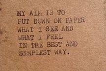 Dear writer in us all